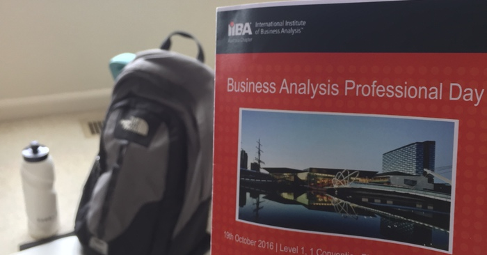 Conference Summary: IIBA Melb 2016